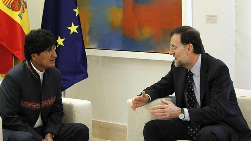 La reunión entre Evo Morales y Mariano Rajoy se llevará a cabo el viernes 16 de marzo sobre las 17:00 horas en La Moncloa.