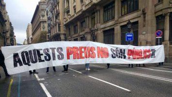 Los estudiantes universitarios de Cataluña solicitan una rebaja del 30 por ciento en las tasas universitarias.