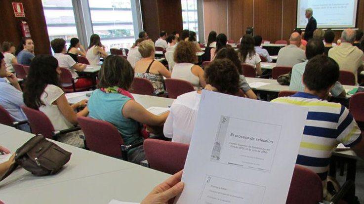 La prueba de acceso al cuerpo de diplomados en estad stica for Centro asociado de madrid