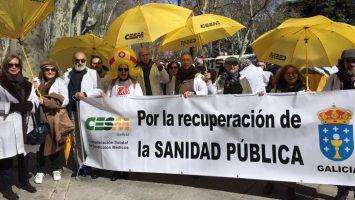 El Foro de la Profesión Médica prevé repetir el poder de convocatoria registrado en la manifestación del 21 de marzo.