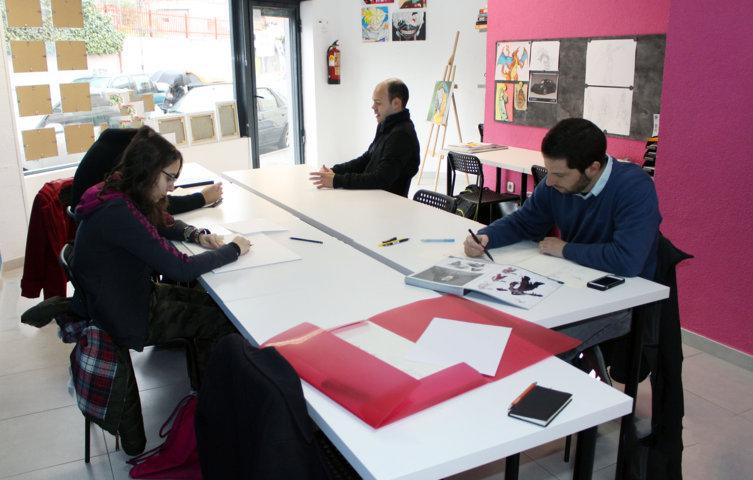 A Félix le gustaría incluir en su escuela un espacio para que jóvenes talentos puedan crear proyectos de animación que puedan comercializarse.