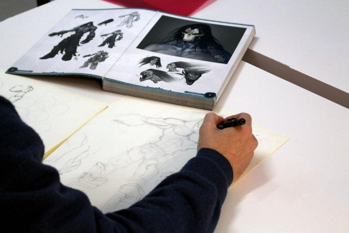 El emprendedor dio sus primeros pasos en la docencia al formar a niños en los conceptos más básicos del dibujo.
