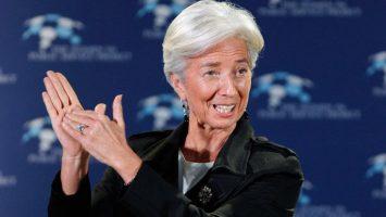 Christine Lagarde, presidenta del FMI, recomienda la creación de un fondo capaz de paliar próximas crisis económicas en el seno de la Unión Europa.