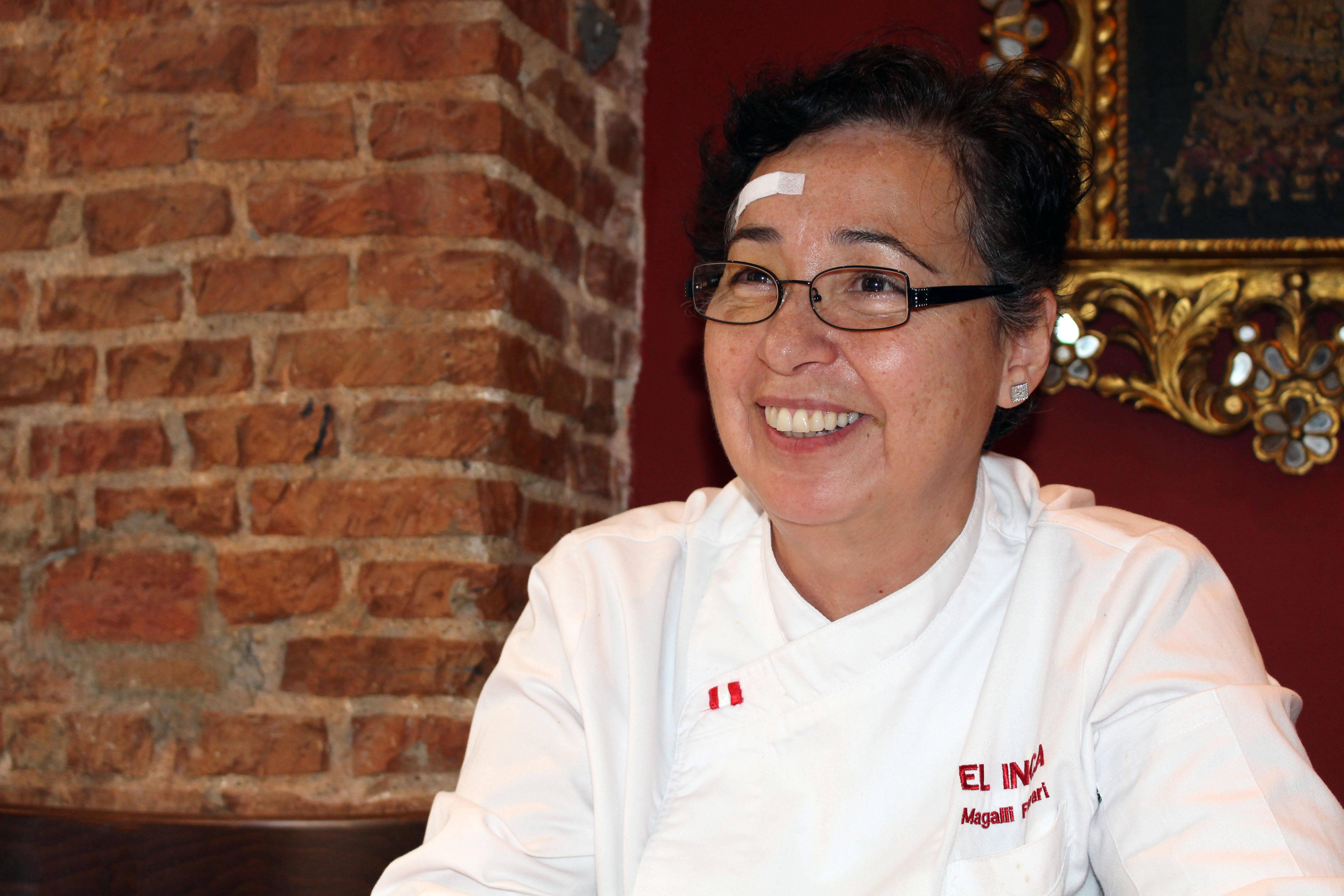 La chef destinó una inversión de 200.000 euros durante los primeros tres años de la reapertura de El Inca.