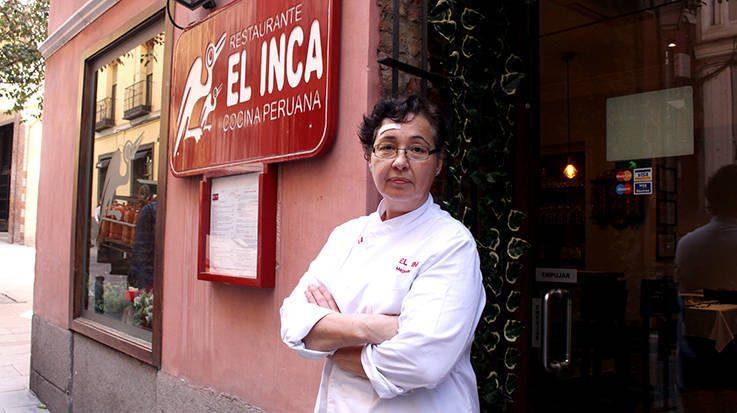 Magalli Ferrari, chef del restaurante peruano El Inca.