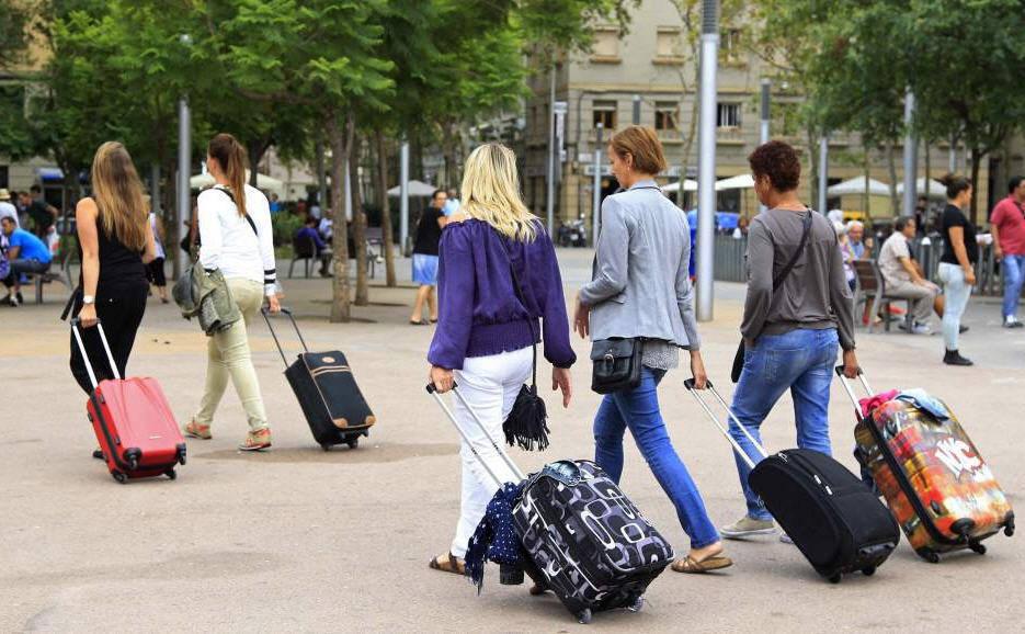 Los turistas internacionales han generado un gasto total de 4.501 millones de euros.