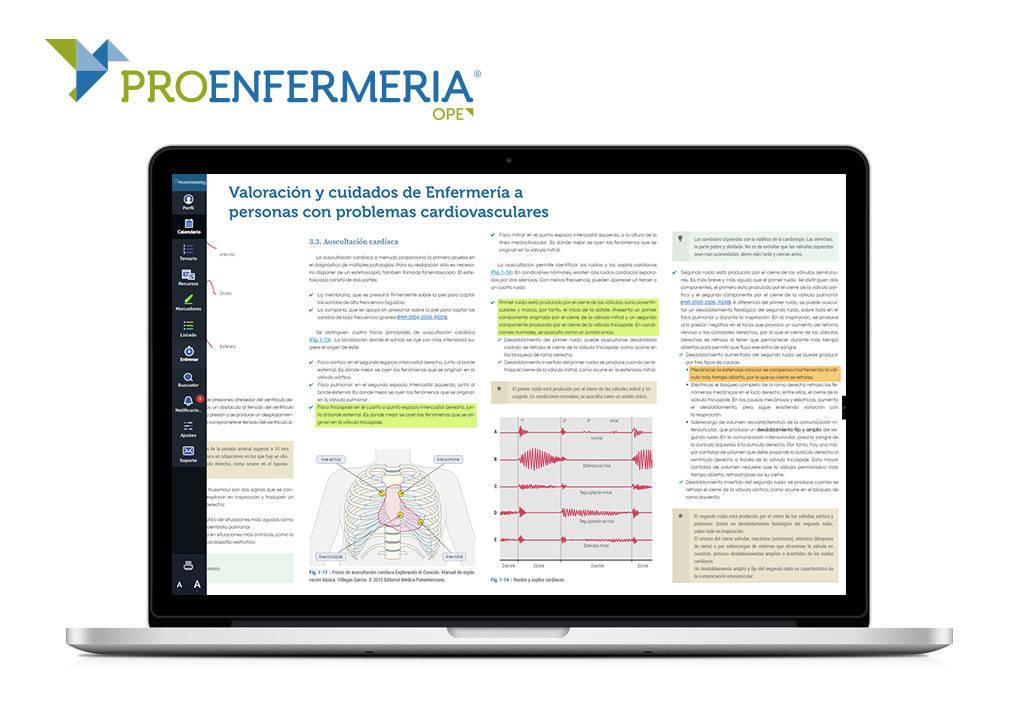 ProEnfernería permite al aspirante acceder a unas 11.000 preguntas, incluidas las de convocatorias nacionales y autonómicas previas.