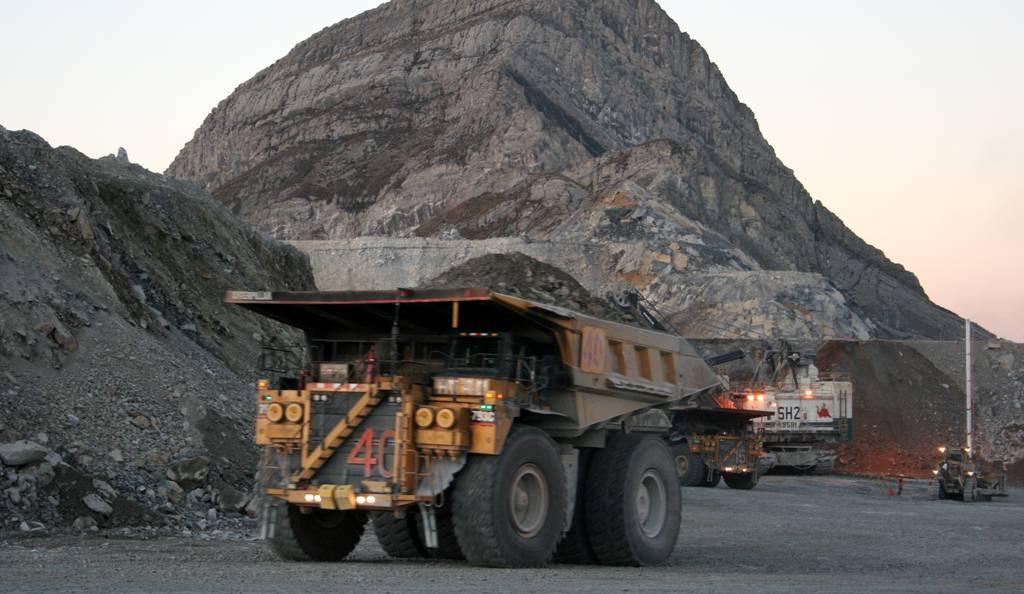 La producción de cobre ha subido sólo un 0,7 por ciento interanual.