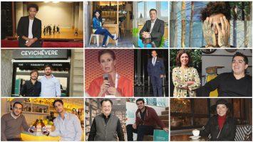 Algunos de los emprendedores entrevistados por IberoEconomia.