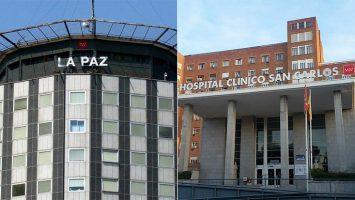 El Hospital Universitario La Paz y el Clínico San Carlos captan a cuatro de los 10 mejores PIR.