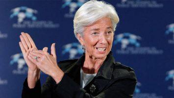 Christine Lagarde, presidenta del Fondo Monetario Internacional.