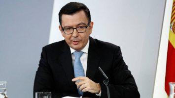 Román Escolano, ministro de Economía, Industria y Competitividad.