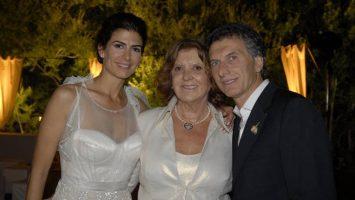 Alicia Beatriz Blanco Villegas Cinque, madre de Mauricio Macri, presidente de Argentina.