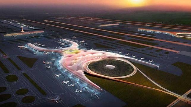 La construcción del Nuevo Aeropuerto Internacional de Ciudad de México equivale a una inversión de 13.300 millones de dólares.