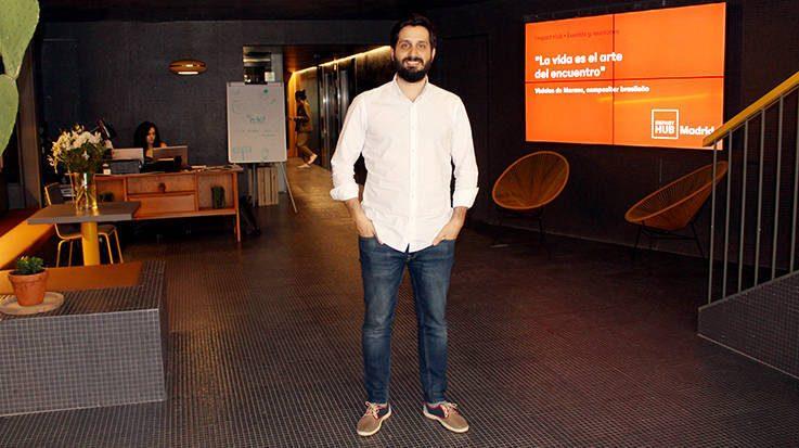Juan Parodi, responsable de Desarrollo de Negocio de Impact Hub Madrid.