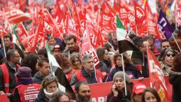 El CCOO, UGT y CSIF convocan a una manifestación en toda España desde el 21 de mayo hasta el 21 de junio.