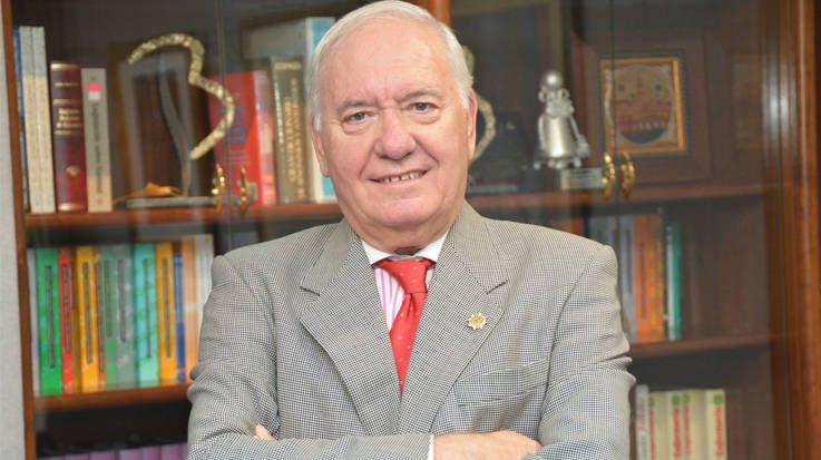 Florentino Pérez, presidente del Consejo General de Enfermería.