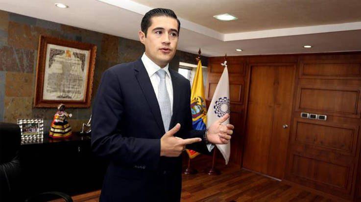 Richard Martínez Alvarado, nuevo ministro de Economía y Finanzas de Ecuador.