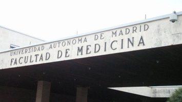 El edificio de la Facultad de Medicina de la Universidad Autónoma de Madrid.