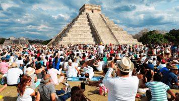 La Organización Mundial del Turismo indica que México se ha convertido en el sexto país más visitado, con 39,3 millones de turistas.