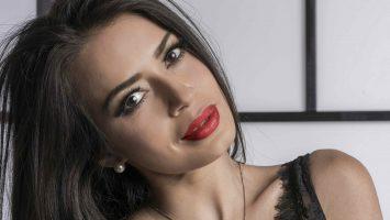 Andreina Veliz, modelo, periodista, presentadora de TV y locutora venezolana.