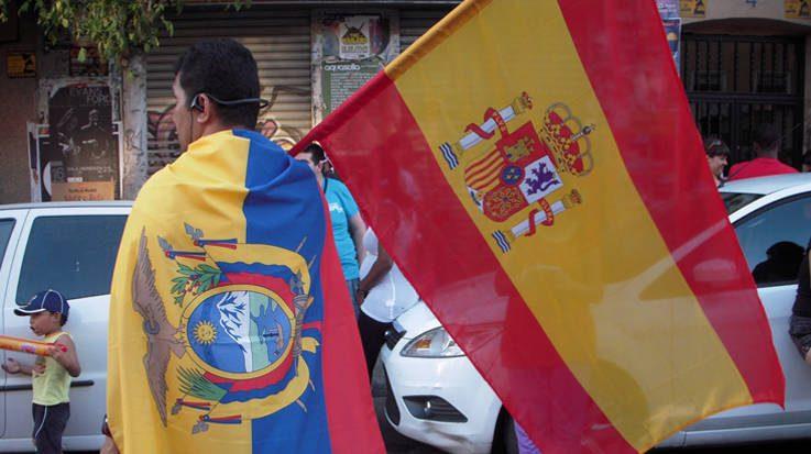 Eurostat revela que Colombia y Ecuador son los países latinoamericanos con mayor número de permisos de residencia en España.