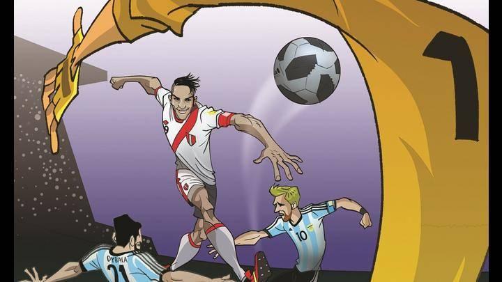 El cómic dispondrá de cinco fascículos y contará la hazaña de la selección peruana en los mundiales de fútbol.