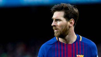 Lionel Messi, jugador del FC Barcelona y Argentina.