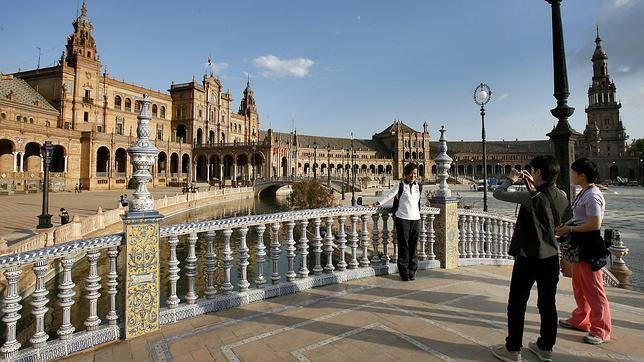 El gasto de los visitantes internacionales ha sido de 21.394 millones de euros hasta el mes de abril.