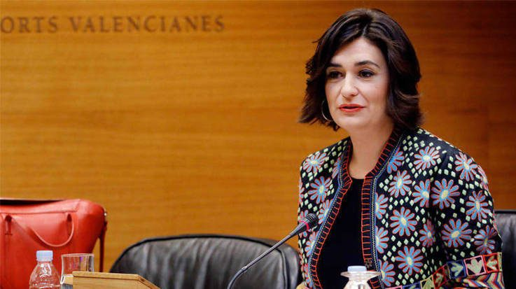 Carmen Montón, actual consejera de Sanidad de la Generalitat Valenciana.