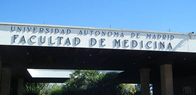 La nota de corte de Medicina en la Universidad Autónoma de Madrid es de 13,11 puntos.