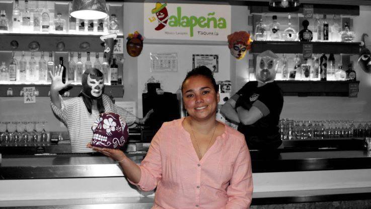 Rita Arellano, fundadora de La Jalapeña, restaurante que ha cautivado al barrio de Lavapiés.