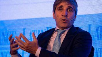 Luis Caputo, nuevo gobernador del Banco Central argentino.