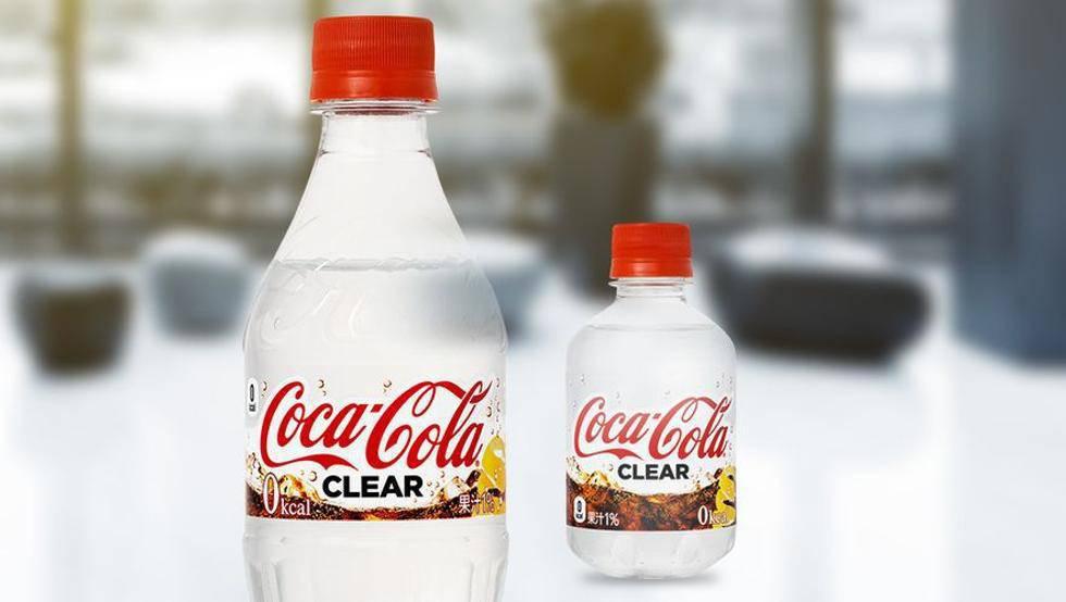 'Coca Cola Clear' es una bebida espumosa, con un toque de sabor a limón, edulcorantes y cafeína.
