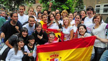 La población residente en España ha registrado un total de 46,6 millones de habitantes en 2017.