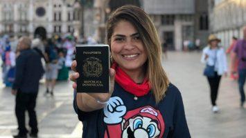 María Isabel Contreras, influencer dominicana y autora de la cuenta de Instagram @Mochileraporelmundo.