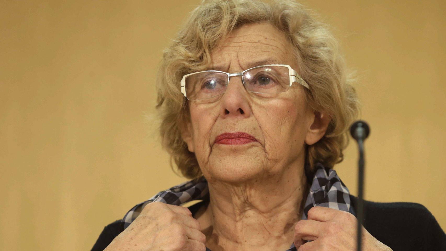 Manuela Carmena, alcaldesa de la ciudad de Madrid.