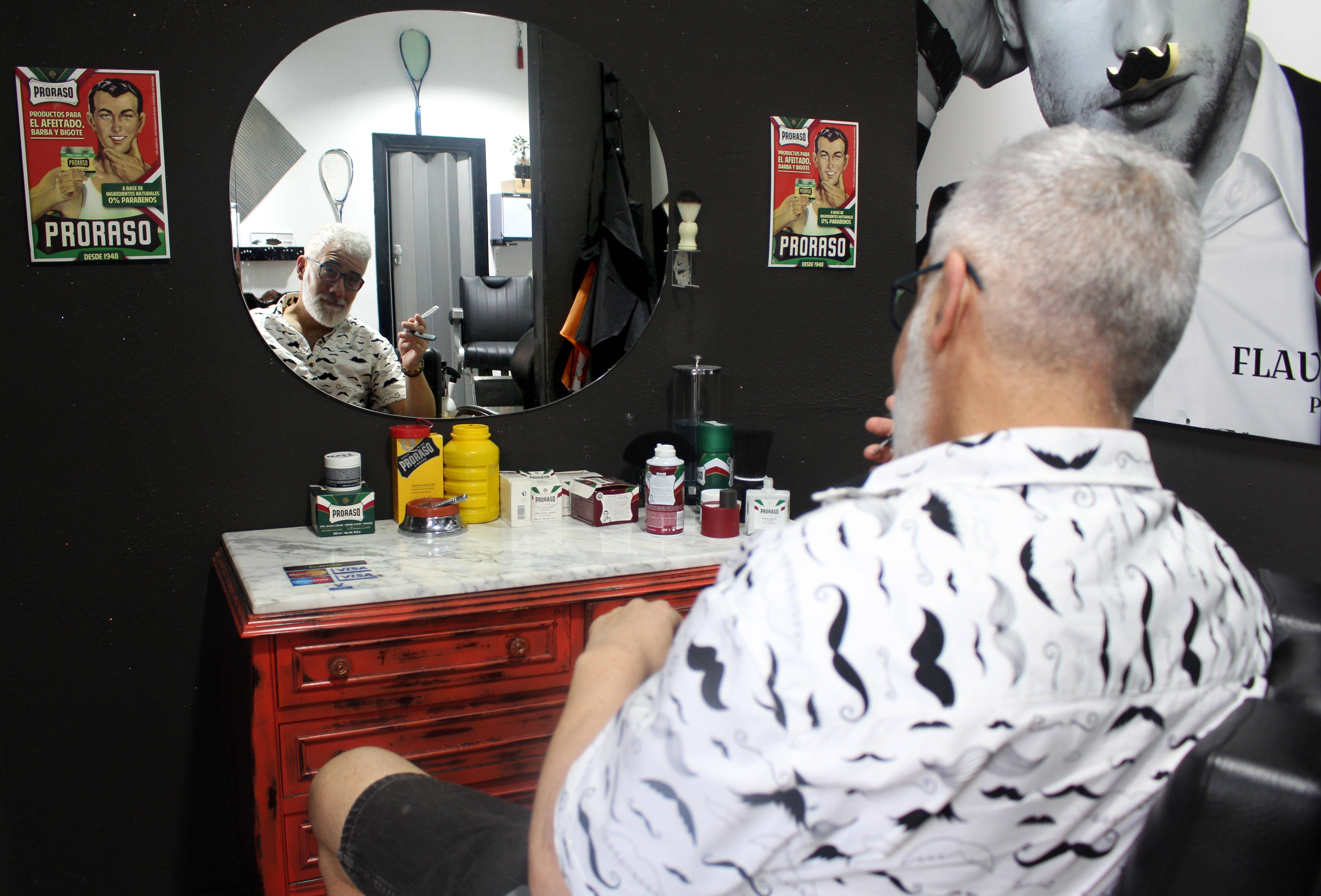 Jorge Ferreyra indica que la adopción de un barbería ha incrementado el ticket medio del establecimiento.