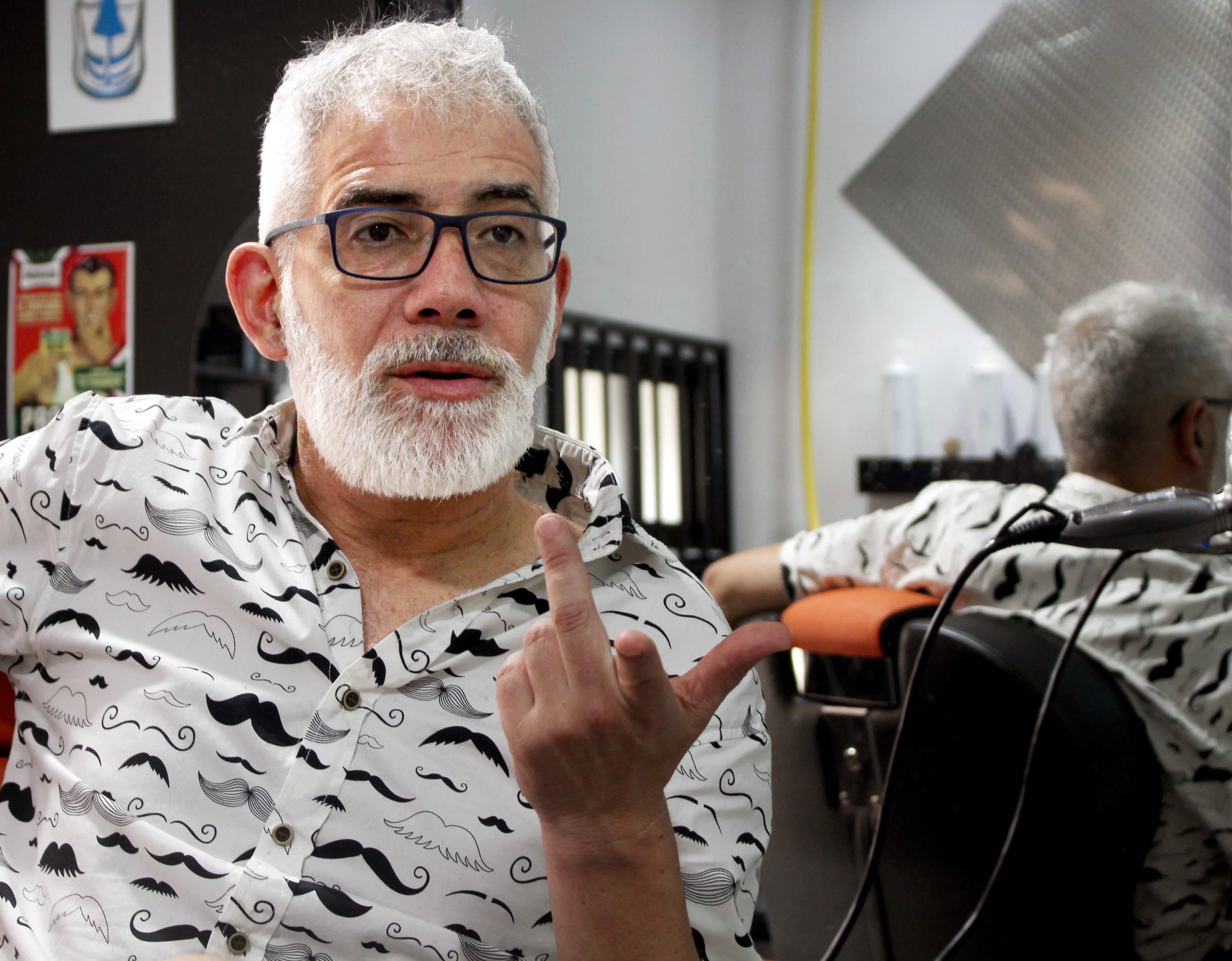 Ferreyra inaugura su peluquería en 2012 con una inversión inicial de 18.000 euros.