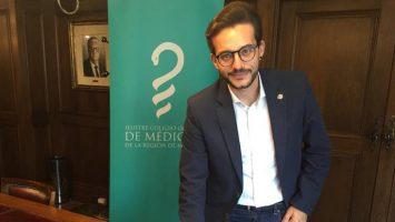 Domingo Antonio Sánchez, vocal de Médicos en Formación de la Junta Directiva del Colegio Oficial de Médicos de la Región de Murcia.
