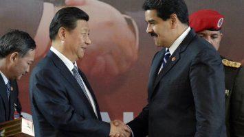 Xi Jinping, presidente de la República Popular China, y Nicolás Maduro, presidente de Venezuela.