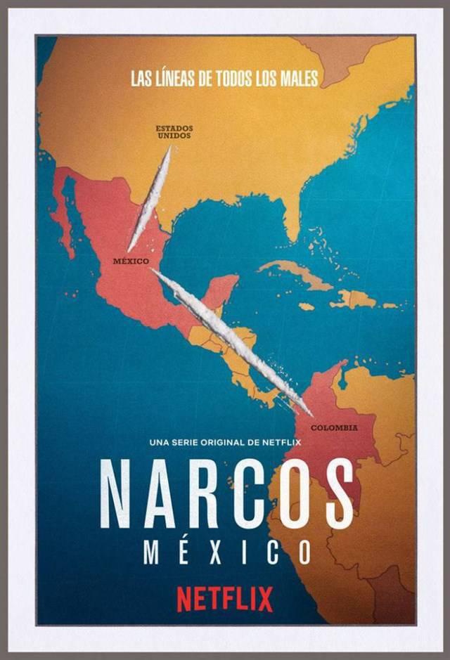 Cartel promocional de la nueva temporada de 'Narcos'.