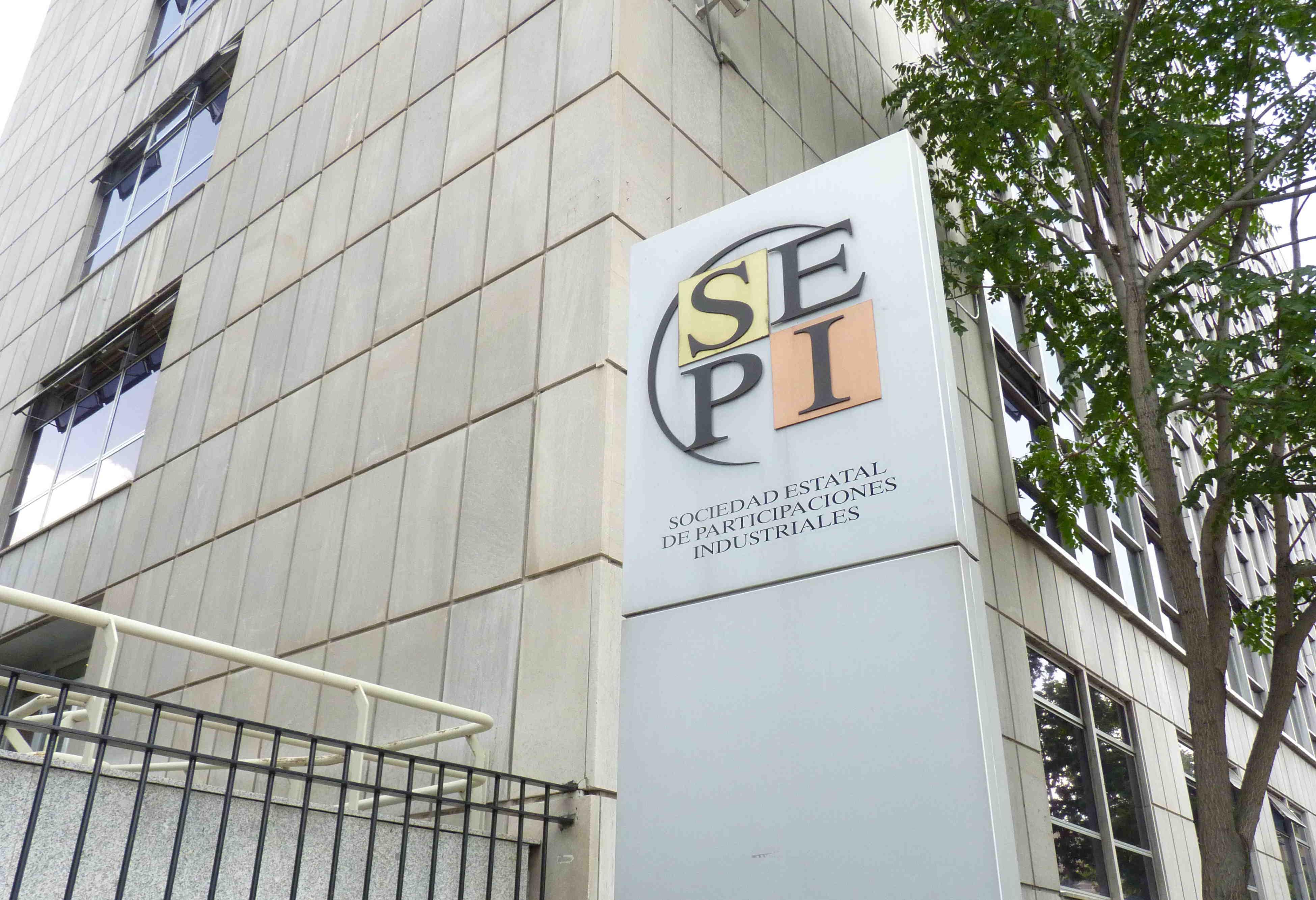 Sede de la Sociedad Estatal de Participaciones Industrial.