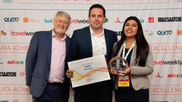 Air Europa ha sido reconocida como la aerolínea del año en los premios 'Latin American Travel Association'.