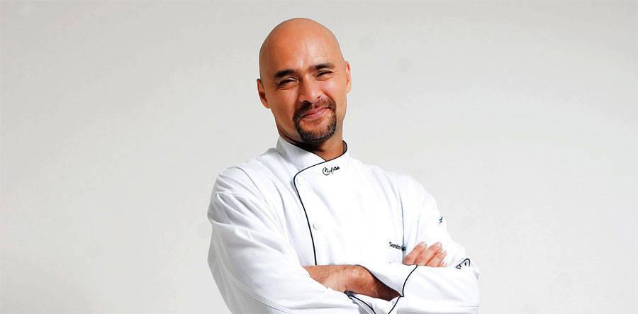 Sumito Estévez, chef venezolano y fundador del Instituto Culinario de Caracas.