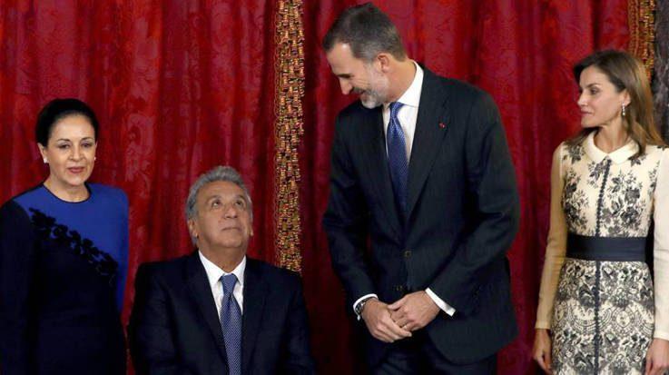 Lenín Moreno se reunirá con el Rey Felipe VI el próximo jueves 26 de julio en el Palacio de la Zarzuela.