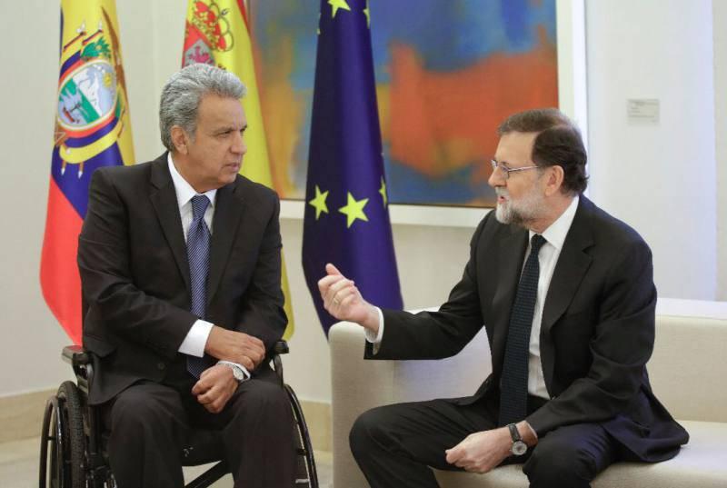 Lenín Moreno retomará durante su visita a España la petición de excluir a los ecuatorianos del visado Schengen.