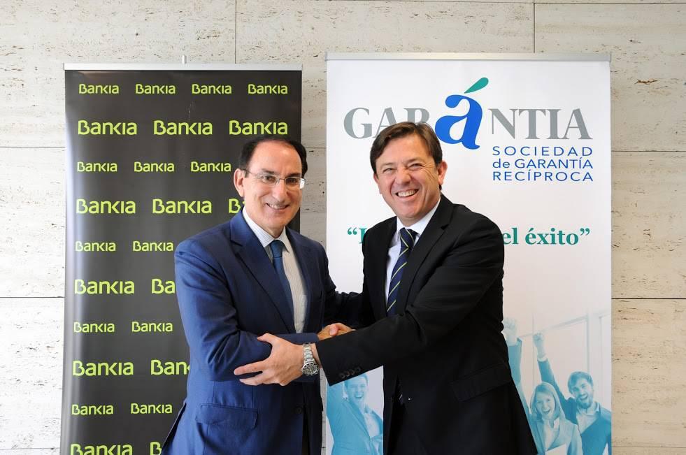 I: Bankia y Garántia SGR impulsarán la financiación de las empresas andaluzas con 100 millones de euros.