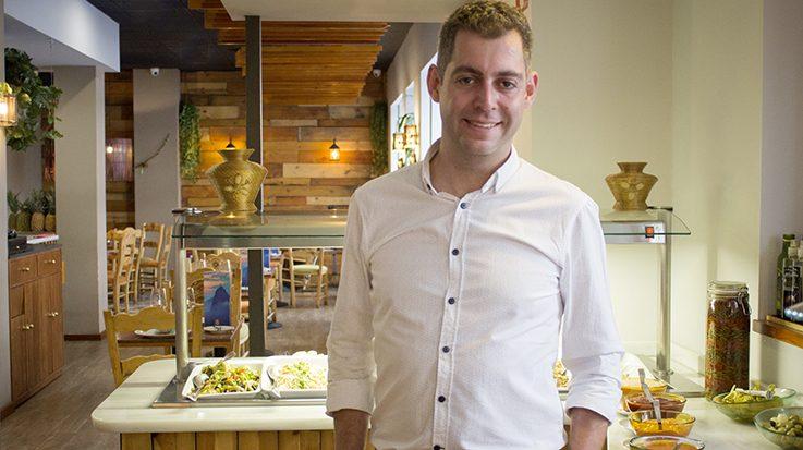 Rui Silva, fundador del restaurante Vila Brasil.