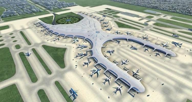 La Base de Santa Lucía es una de las opciones para trasladar el actual Aeropuerto Internacional de la Ciudad de México.